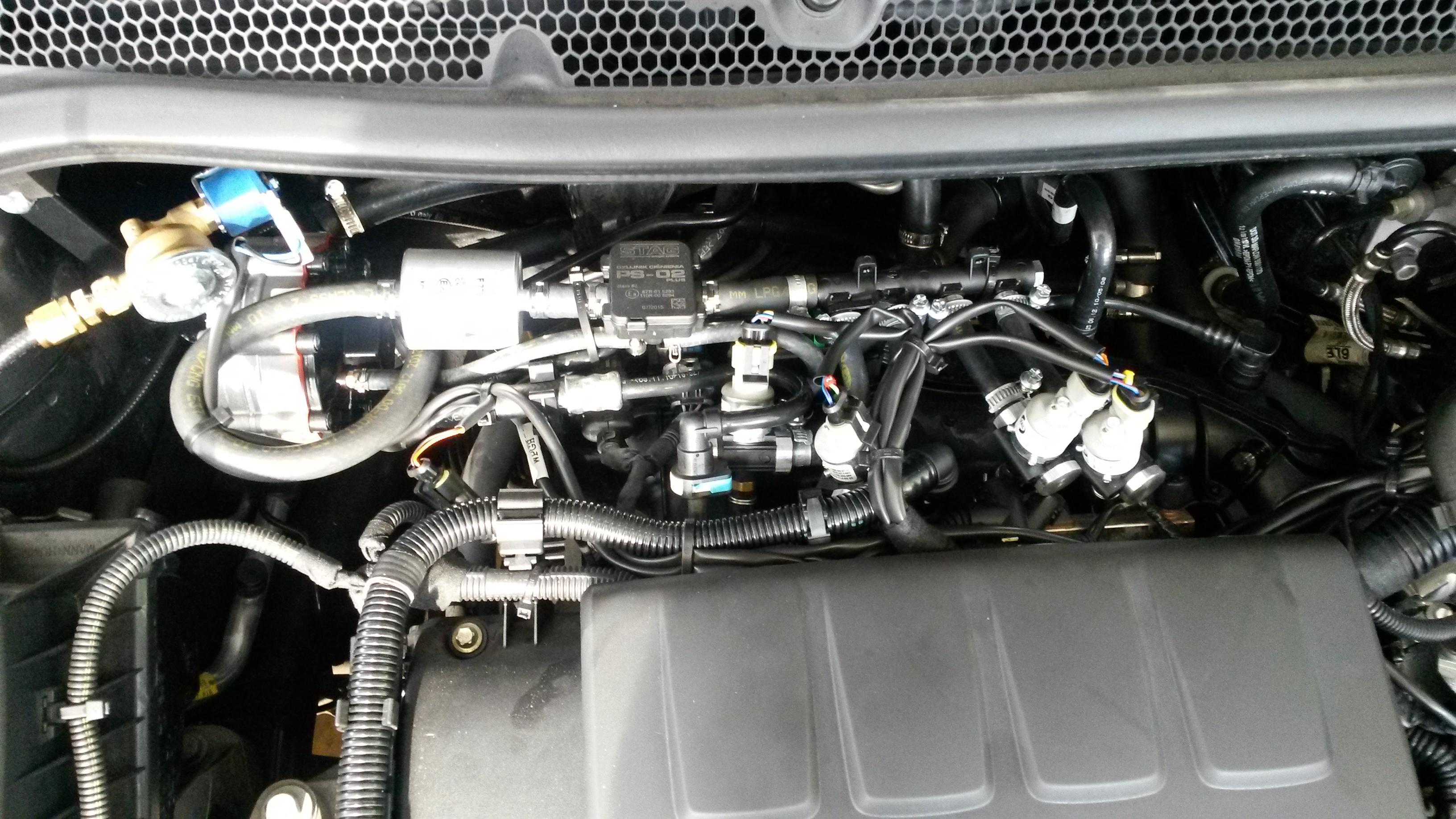 Schema Elettrico Opel Astra F : Opel astra turbo con impianto gpl maggiorato